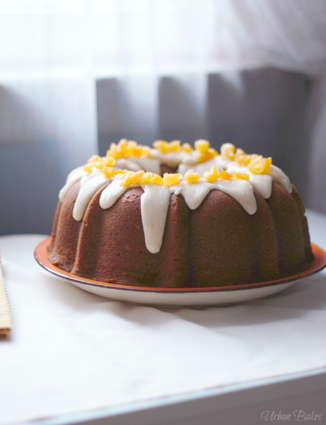 Apricot-Filled Pumpkin Cake with Brown Butter Frosting | URBAN BAKES